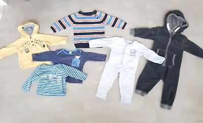 Baby Boys 9-12 Months Clothes Bundle NEXT H&M M&S top outfit jumper hoodie