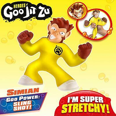 Heroes of Goo Jit Zu - Simian, Stretchy Monkey Action Figure, New!