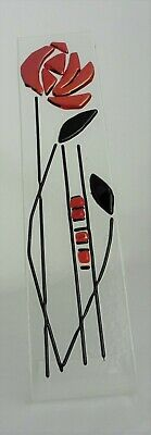 Fused Glass Free Standing Sun Catcher