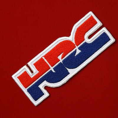 "3.3/4""x1 pc. hrc honda racing big bike motogp embroidered iron on sew patch"