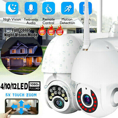 1080P WIFI IP66 Camera Wireless Waterproof Outdoor CCTV HD Home Security IR Cam