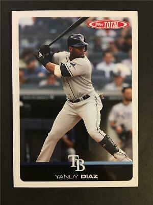 2019 Topps Total Wave 6 #560 Yandy Diaz Rays Only 372 Made