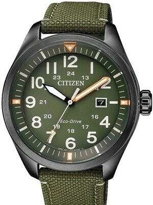 NEW Citizen Eco-Drive Men's Date Watch - AW5005-21Y