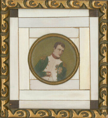 After P. Noll - Early 20th Century Gouache Miniature, Napoleon