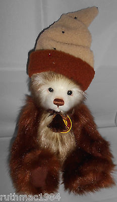 Charlie Bears NUTMEG ~ SECRET COLLECTION QVC Exclusive 2012 Isabelle Lee RETIRED