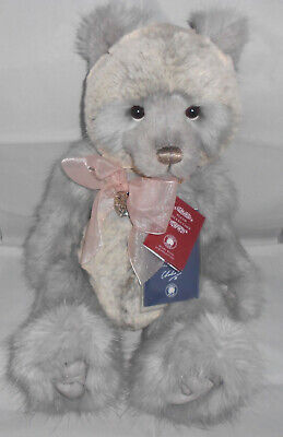 "Charlie Bears "" CHARLIE "" Plumo YEAR BEAR 2018 ~ Isabelle Lee ~RETIRED Rare VHTF"