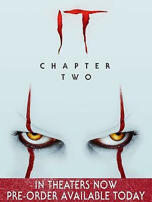 It: Chapter Two BRAND NEW 4K UHD + BLU-RAY + DIGITAL Pre-order Dec James McAvoy