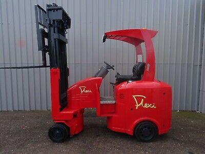 FLEXI EURO 2000Kg. USED ARTICULATED ELECTRIC FORKLIFT TRUCK. (#2535)