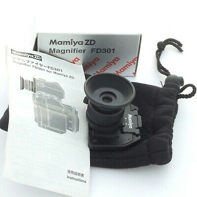 Mamiya ZD Magnifier FD301, boxed, mint condition (18402)