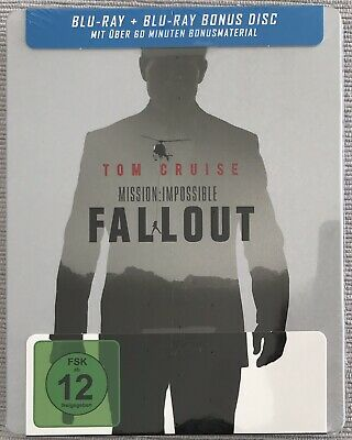 Fallout Mission Impossible 6 Exclusive Steelbook Blu-ray NEU/NEW OVP