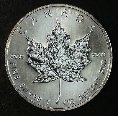 2006 Canada Maple Leaf $5 Dollars .9999 Silver ☆☆ Great Investment Silver 562