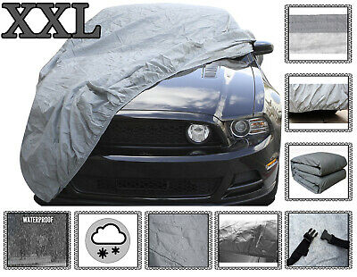 All Weather Heavy Duty 2.5KG Car Cover 2 Layer Waterproof XXL Soft Inner Lining