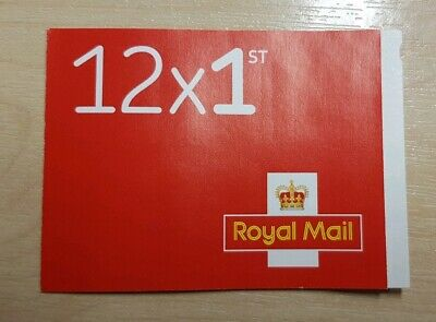 12 1st CLASS Stamps NEW Royal Mail Postage Stamp First Book Sheet UK FAST POST!
