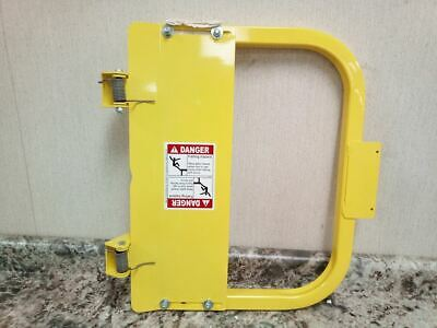 PS Doors LSG-18-PCY 16-3/4 to 20-1/2 In Opening Carbon Steel Safety Gate