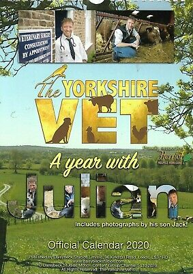 The Yorkshire Vet A Year With Julian Official Calendar 2020