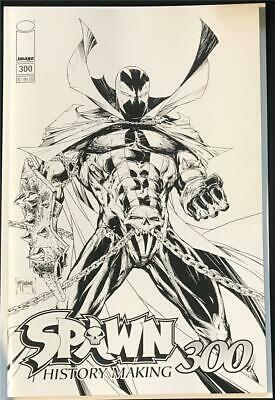 Spawn #300 - McFarlane Black White Sketch Variant B - Image 2019 1st Print NM