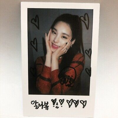 Itzy Yeji Official 1st Mini Album IT'z ICY Polaroid Special Photocard jyp Kpop