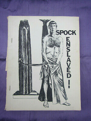Spock Enslaved Early Vintage fanzine