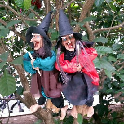 Life Size Psychic WITCH Haunted House HALLOWEEN Decoration Prop Crystal Ball