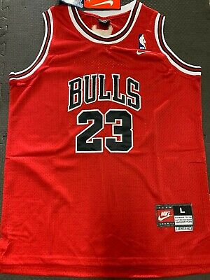 Michael Jordan #23 Chicago Bulls Red Hardwood Throwbacks YOUTH KIDS Jersey