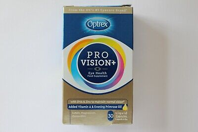 Optrex Pro Vision+ Eye Health Food Supplement - 30 Liquid Capsules