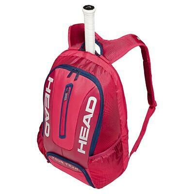 HEAD   Tour Team Tennis Backpack Raspberry and Navy