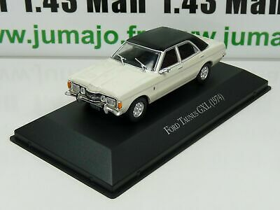 ARG23G Voiture 1/43 SALVAT Autos Inolvidables: Ford Taunus GXL (1974)