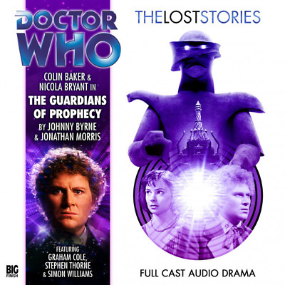 Doctor Dr Who Lost Stories 3.4 ~ The Guardians Of Prophecy Cd (New/Sealed)