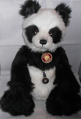 Charlie Bears ZANDER Plumo Panda ~ SECRET COLLECTION QVC Exclusive Isabelle Lee