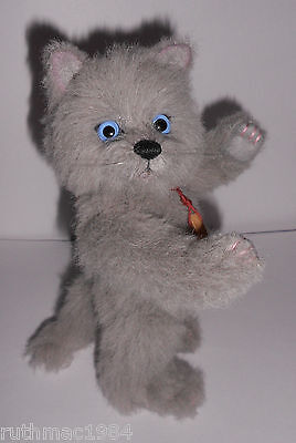 Charlie Bears BLUE ~ the Cat / Kitten Minimo ~ 2016 by Isabelle Lee ~ ALPACA