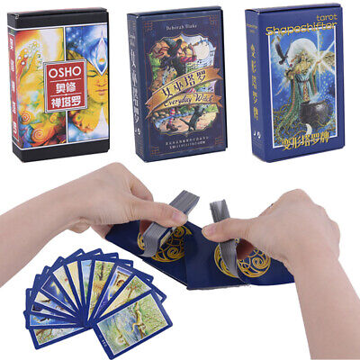 Tarot Cards Mysterious Divination Personal Playing Cards Game Board ~GN