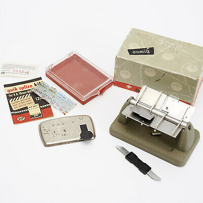 TWO VINTAGE FILM SPLICERS, HP Quick Splice Kit & an Eumig Both Boxed