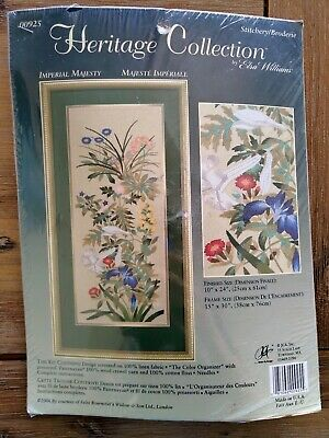 Heritage Collection Elsa Williams Imperial Majesty Crewel Floral Kit 00925