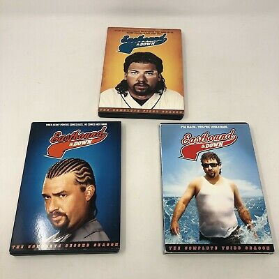 Eastbound and Down - Complete Season 1-2-3 (DVD TV series, HBO)