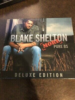 Music CD Blake Shelton More Pure BS Deluxe Edition Country Rock 305d