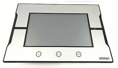 """Omron SYSMAC NA5-7W001S Interactive Display 7"""" HMI Operator Touch Screen Panel"""