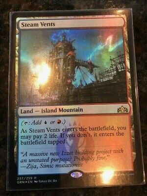 Magic the Gathering MTG - FOIL Steam Vents - Great Condition!