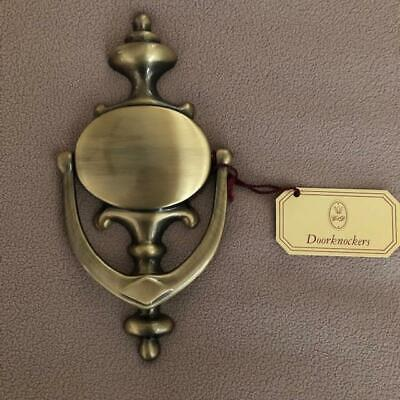 Brand New Satin Finish Brass Door Knocker From Things Remembered