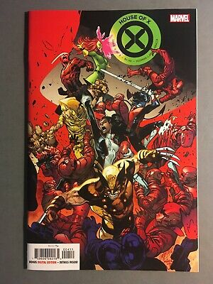 House of X #4 (2019) 1st Print Main Cover