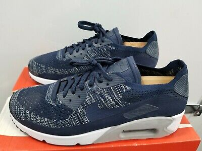 Custom Nike Air Max 90 Ultra 2.0 Flyknit College Navy
