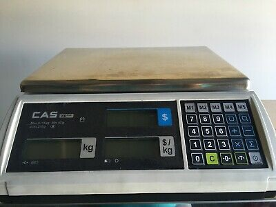 CAS ER PLUS 15Kg Price Computing Scale/ commercial weighing machine