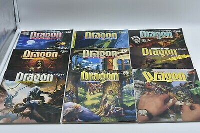 DRAGON MAGAZINE LOT - Shipping Special - Read! DUNGEONS 1ST