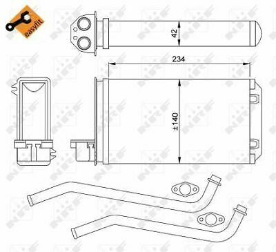 NEW HEATER MATRIX PEUGEOT 408 YEAR 2011 TO 2016  FULL FITTING KIT