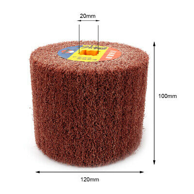 Non-woven Wire Drawing Wheel  Polishing Buffing Abrasive for Metal 4/5 Inch Bore