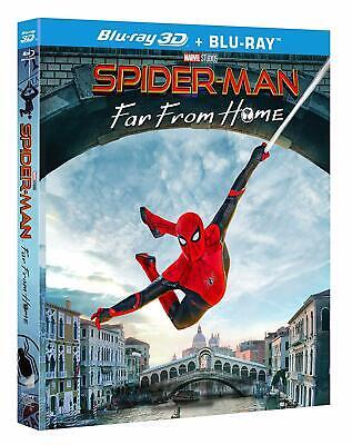 SPIDER-MAN Far From Home 3D (2 BLU-RAY 3D + Blu-ray + Booklet) Tom Holland