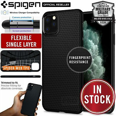 iPhone 11 Pro XS MAX X XR Case Genuine SPIGEN Liquid Air Armor Shockproof Cover