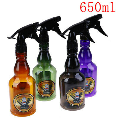 650ml Hairdressing Spray Bottle Salon Barber Hair Tool Water Sprayer Salon To~GN