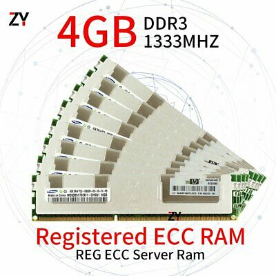 32GB 16GB 8GB 4GB DDR3 PC3-10600R 2RX4 ECC Registered Server RAM For Samsung SP
