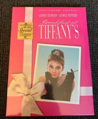 Breakfast at Tiffanys DVD Anniversary Edition Audrey Hepburn New, Sealed