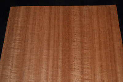 Ribbon Stripe Mahogany Raw Wood Veneer Sheets 8 x 25.5                   MA12261